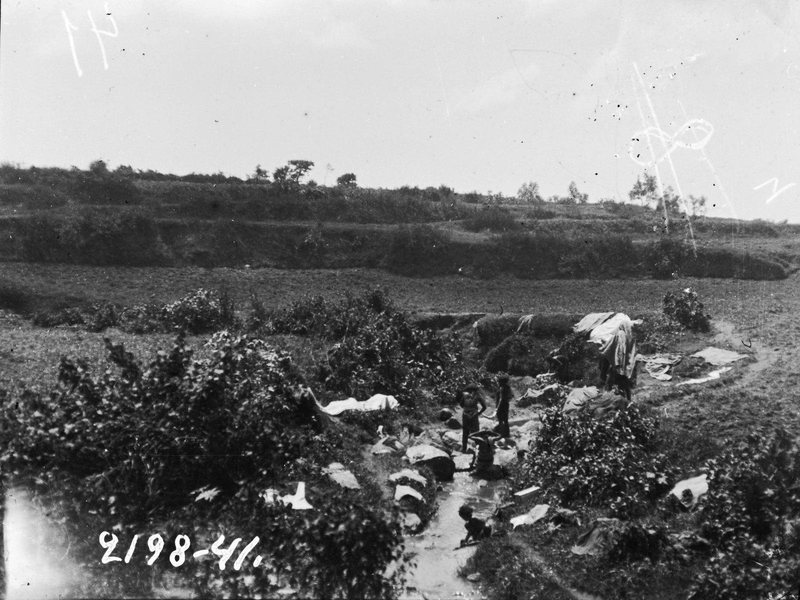 41. Женщины, моющие белье на речке Авдели (около Харара)
