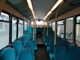 Arriva North East 1425 interior