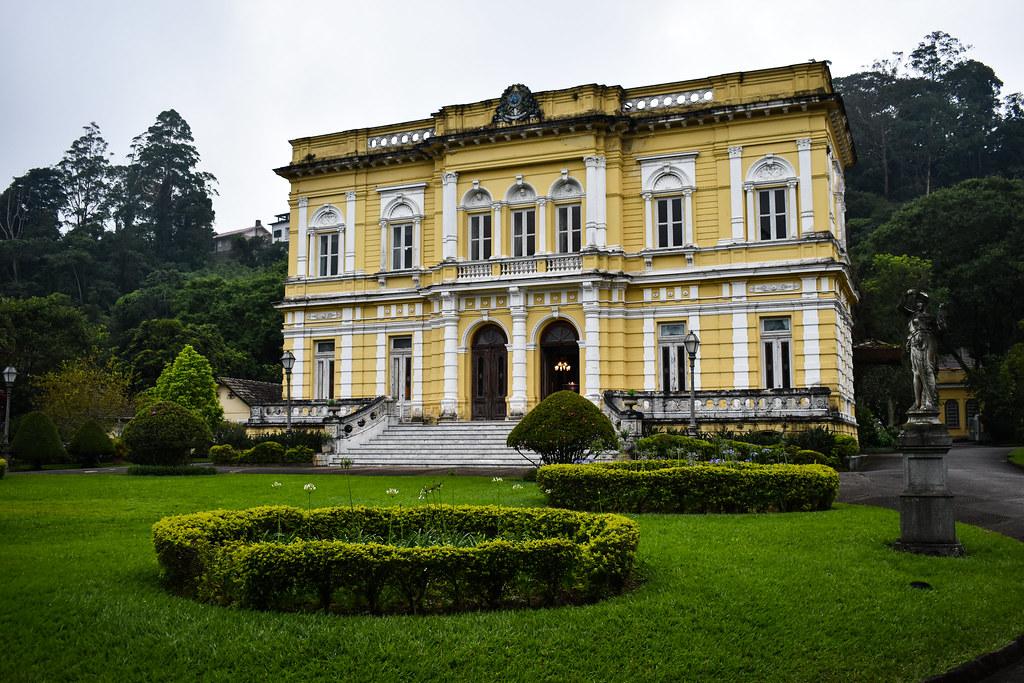 summer palace, petropolis, brazil