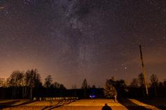 Winter's Milky Way in the Northern hemisphere