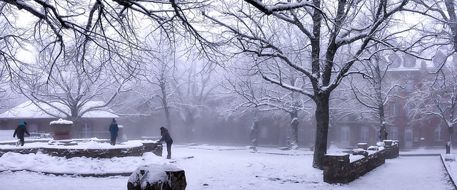 Bataille boules de neige