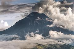 Tungurahua volcano phreactic eruption