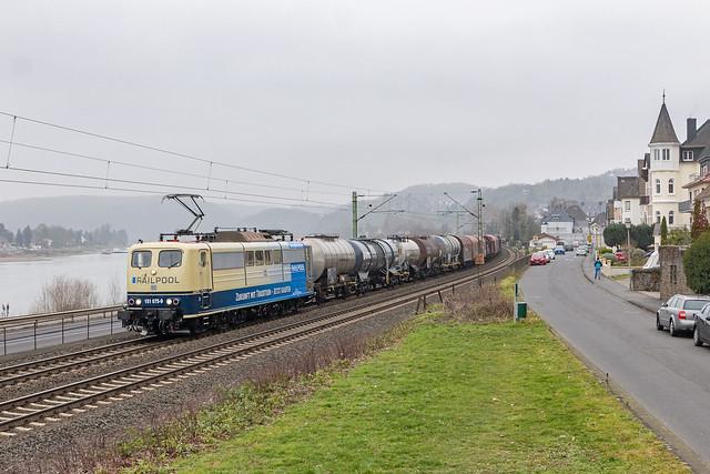 Linz (Rhein), 25 januari 2020   DB Cargo 151 075