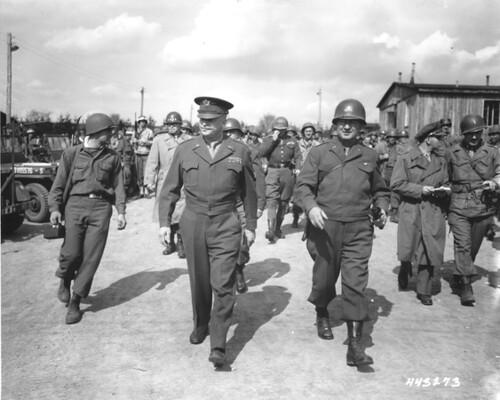 Eisenhower a Buchenwald 1945