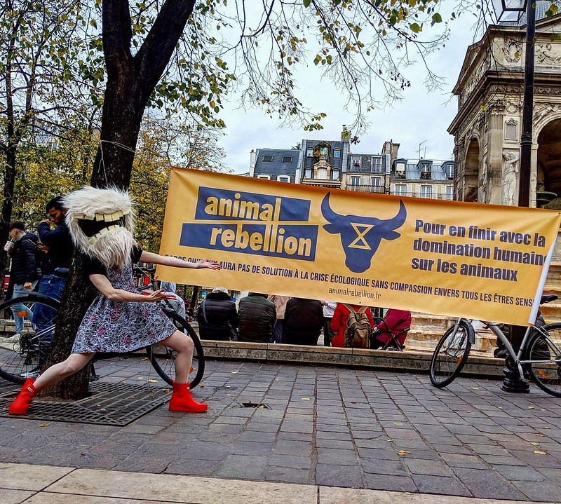 Animal Rebellion,Paris.