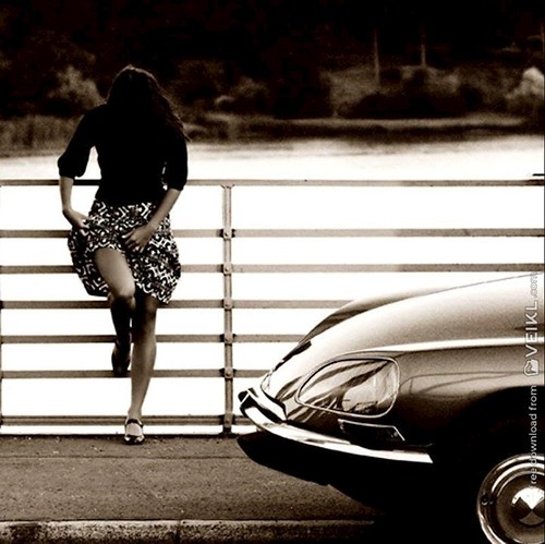 Citroen DS Girls & Cars Photo 1