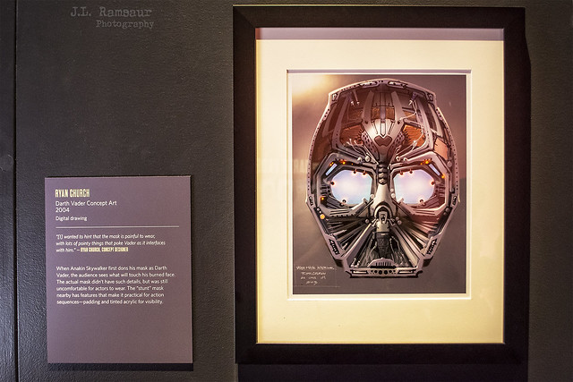 Star Wars & the Power of Costume - Vader Mask Concept Art