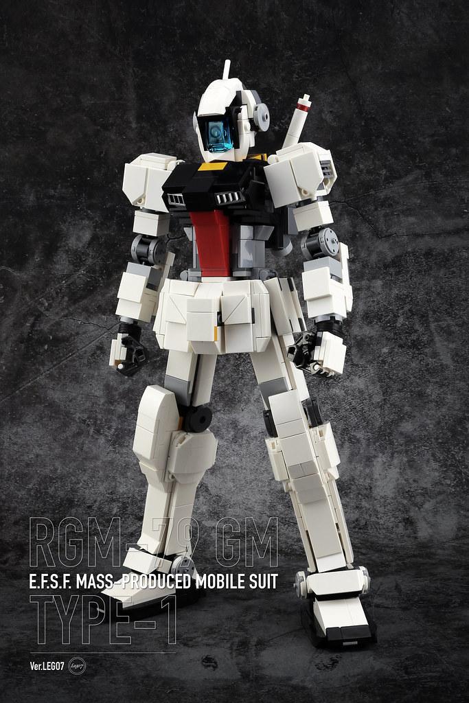 [MOC分享] RGM-79 GM VER. LEGO7