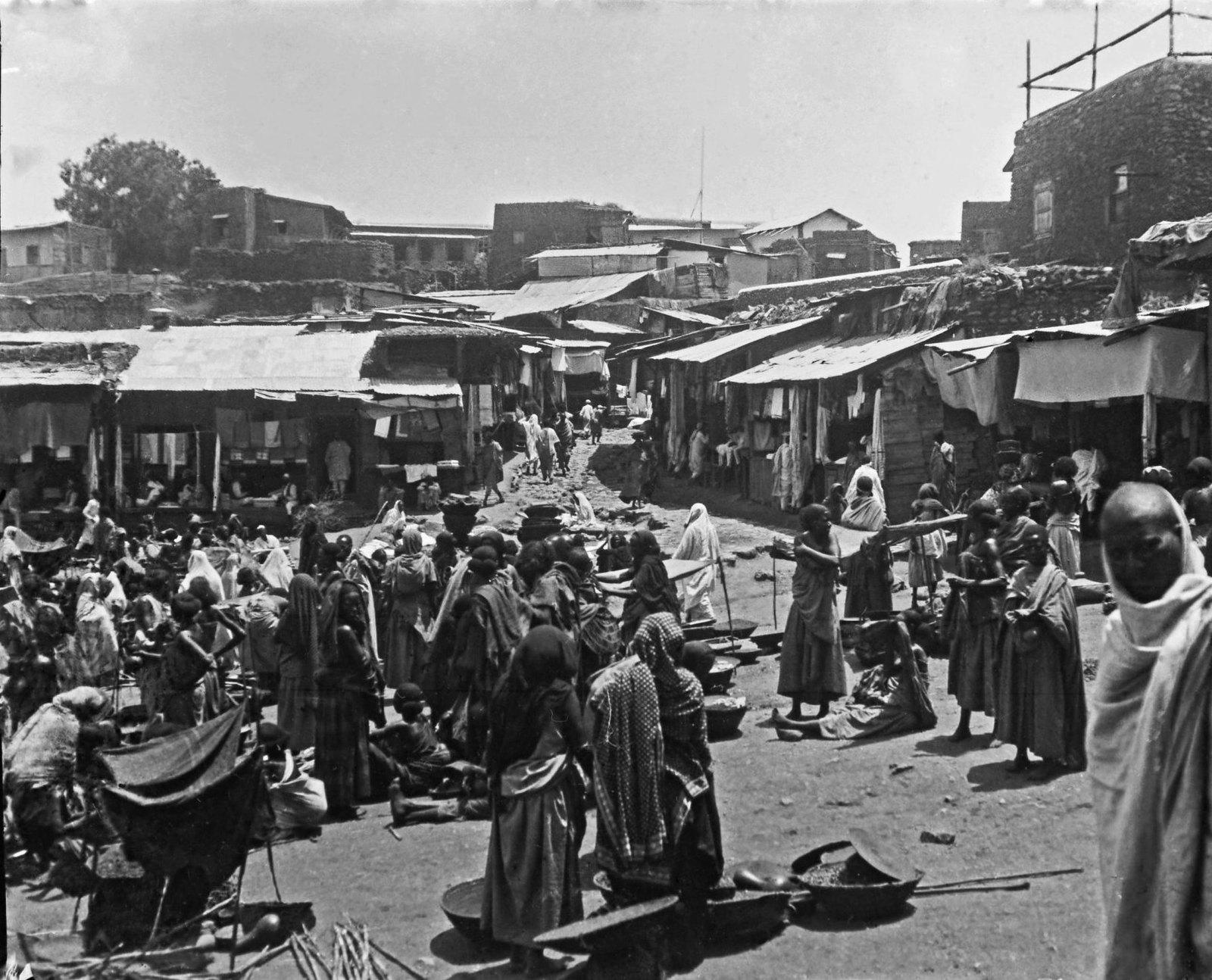 44. Харар. Рынок и площадь