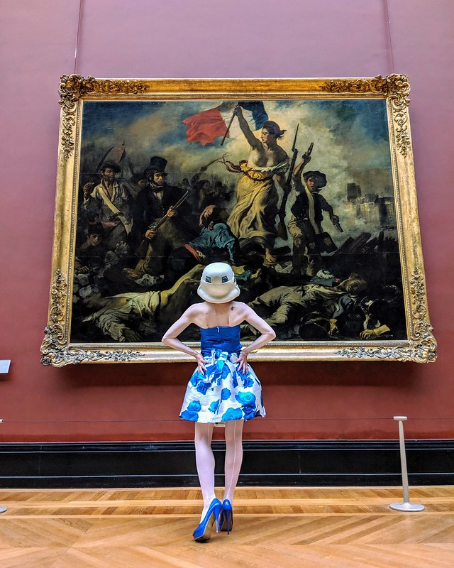 Liberty Leading the People   by Eugène Delacroix