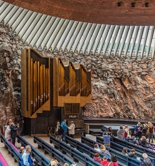 Felsenkirche in Helsinki