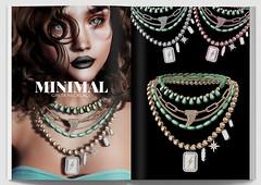 MINIMAL - Greta Necklace AD
