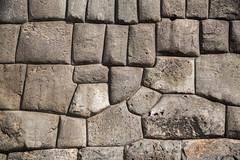 Stone Inca Wall at Cusco.