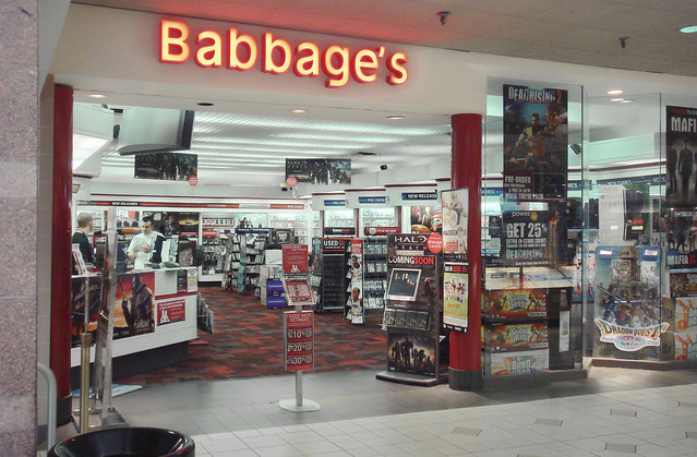 Babbage's at Colonial Park Mall