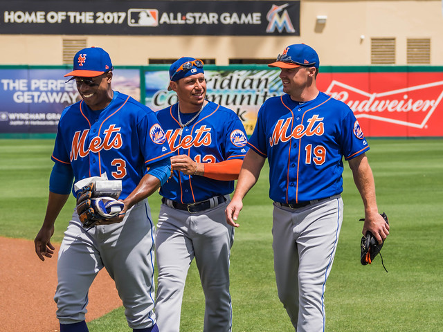 New York Mets 2017 Fielders MLB Baseball