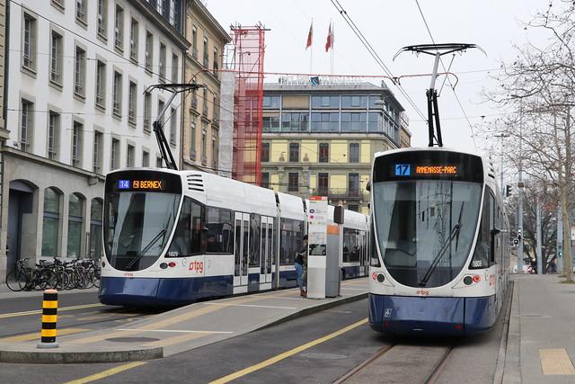 2020-01-23, Genève, Stand (Quai de la Poste)