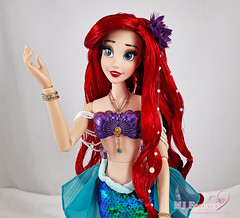 "17"" The Little Mermaid Ariel 30th Anniversary Limited Edition Dolls"