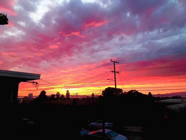 Oakland, CA sunset