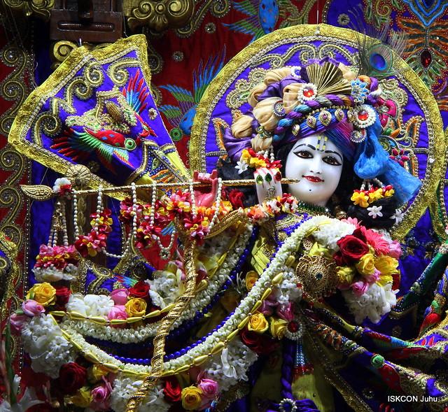 ISKCON Juhu Sringar Deity Darshan on 26th Jan 2020