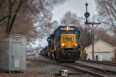 CSX 8365 - Troy, OH