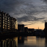 26. Detsember 2019 - 15:48 - Golden winter sunset over Gdansk, Poland