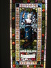 """""""The Lay of the Last Minstrel"""" Stained Glass Window by William Montgomery; """"Warwilla"""" Modern Gothic Queen Anne Mansion - Corner St Kilda Road and Beatrice Street, Melbourne"""