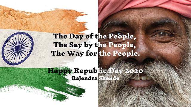 The Day of the People, Say by the People, Way for the People. Happy Republic Day 2020 (2)