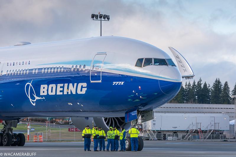 777x, 777-9 1st flight