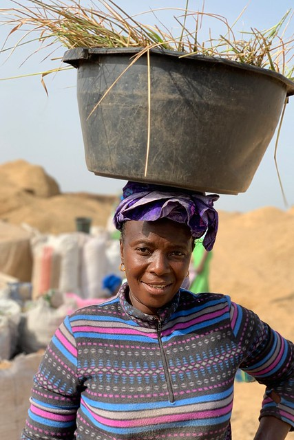 Woman in Gambia
