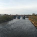 Preston - River Ribble, looking West 191228