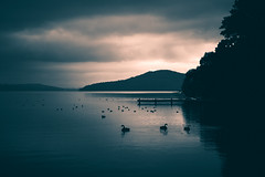 Split Tone Sunrise at Lake Rotorua
