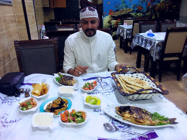 Hasan from Cairo treated me to this wonderful fish lunch by bryandkeith on flickr