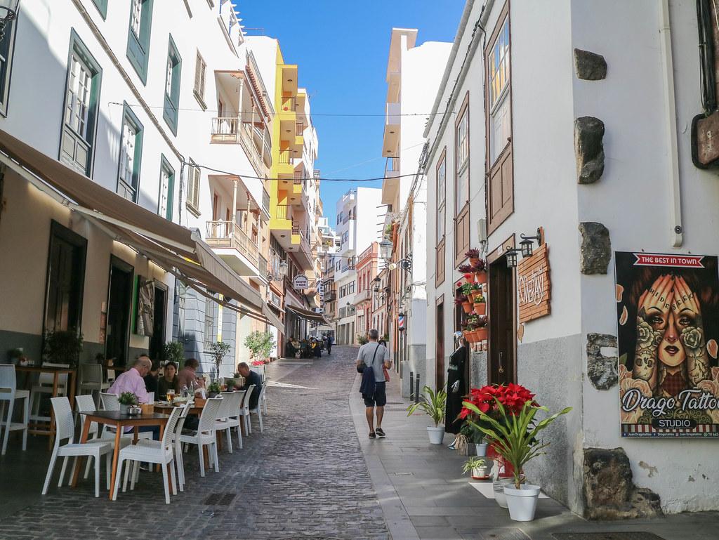 Calle San Sebastian en Icod de los Vinos