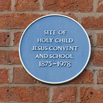 Open Plaque - Preston, Winckley Square [Jesus Convent] 191228