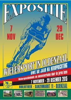 Expositie 2015 - Wielersport in Oldenzaal, OWC 50 jaar na heroprichting