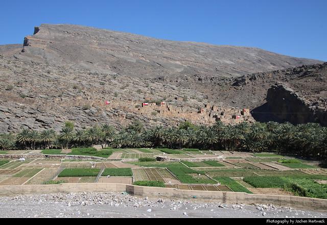 Abandoned village ruins, Necrosis Valley, Riwaygh, Oman