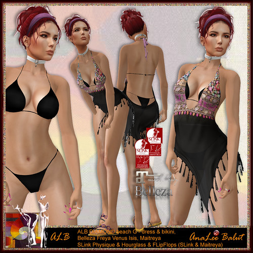 ALB DIAMOND beach dress & bikini G - Lamu Group Gift
