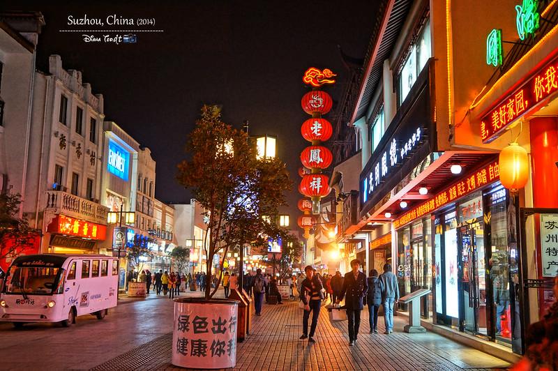2014 China Suzhou Night Market