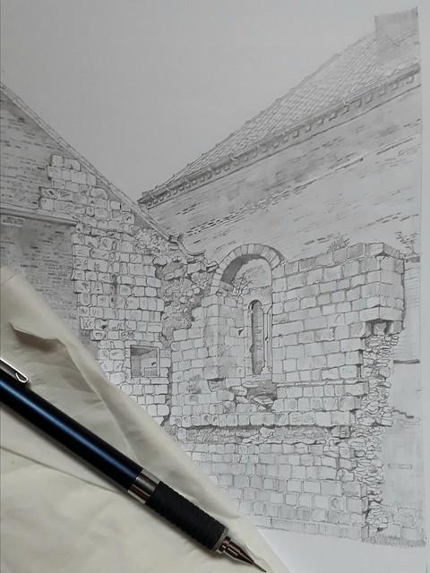 An alleyway in York (WiP 5)