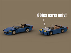 Only 80ies parts allowed...