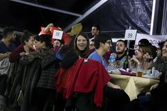 dj., 23/01/2020 - 21:54 - Barcelona 23.01.2020 L'alcaldessa assisteix al sopar de Festa Major al barri de Sant Antoni.   Foto: Laura Guerrero/Ajuntament de Barcelona