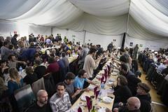 dj., 23/01/2020 - 21:40 - Barcelona 23.01.2020 L'alcaldessa assisteix al sopar de Festa Major al barri de Sant Antoni.   Foto: Laura Guerrero/Ajuntament de Barcelona