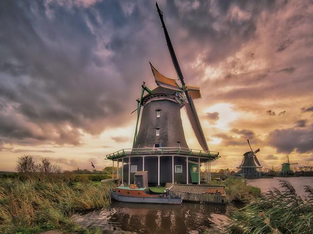 Mystical Zaanse Schans-Niederlande