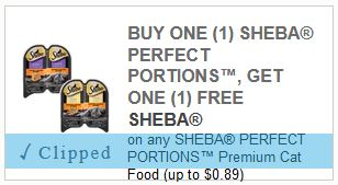 New Sheba Cat Food Coupons Save 50 On Perfect Portions