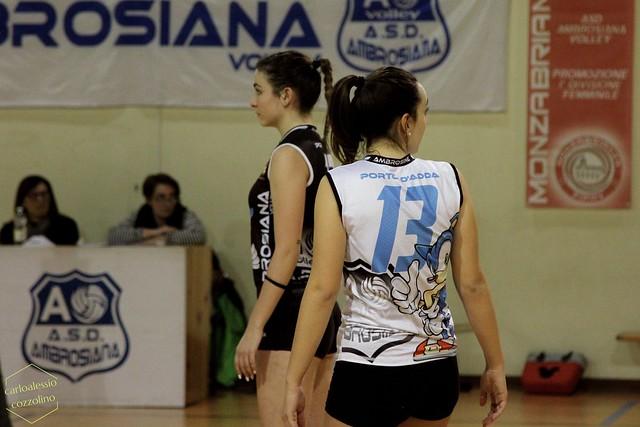 Alè Ambrosiana Volley vs A.S.D. OSFNSA Oggiono
