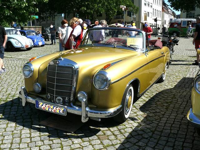 Mercedes Benz 220 SE Cabrio Ponton 120 PS 2180 cm3 Baujahr 1960