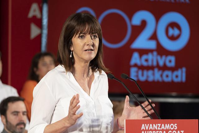 Idoia Mendia clausura los encuentros 2020 Activa Euskadi