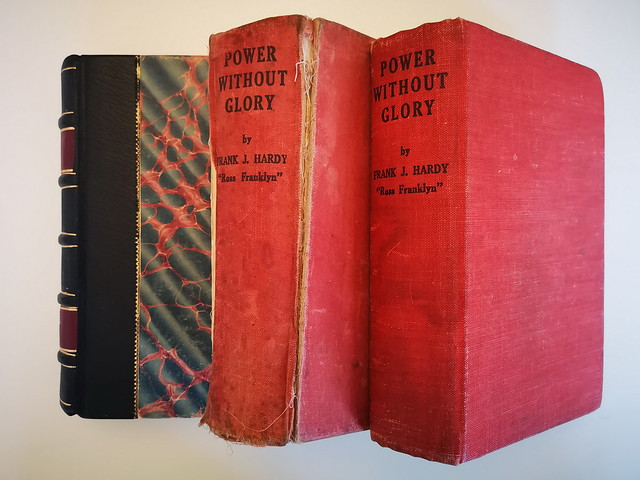 Frank Hardy. Power Without Glory. 1st Editions.