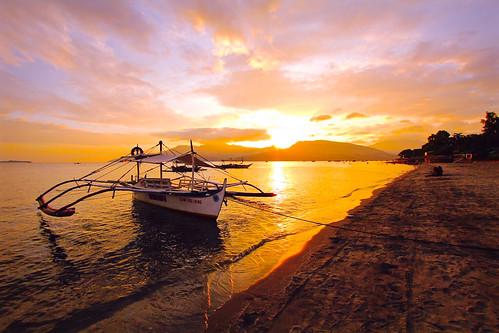 Island Sunset - Zambales, Philippines