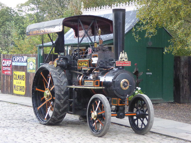 Fowler Steam Tractor 21222